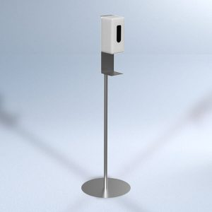 Disinfection column with sensor.