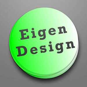 Stickers Indoor 300 x 300mm (Eigen Design)