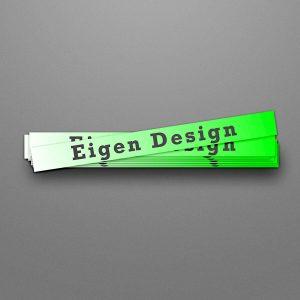 Stickers Indoor – Eigen Design (Diverse Formaten)