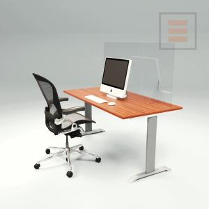 Pantalla de escritorio de plexiglás 1400 x 700 mm