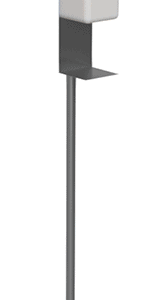 Disinfection column with sensor.