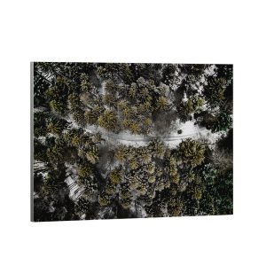 Textielframe – Bos Natuur Birdseye View (id2)