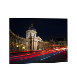 Textile frame - Traffic with open shutter (id19).