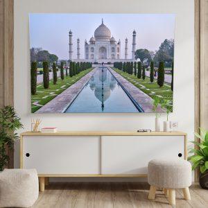 Textile frame - Taj Mahal (id18).